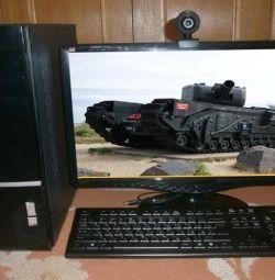 8-Gig / PC i5 4-πυρήνες / παιχνίδι-Nvidia-2Gb / LCD 22