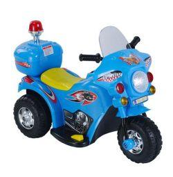 Motocicletă nouă pe baterie (1x6V, 4Ah) albastru