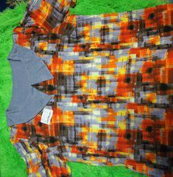Продам новую блузку из вискозы,размер 60-62
