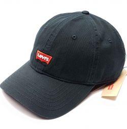 Бейсболка кепка Levis (чорний) s19
