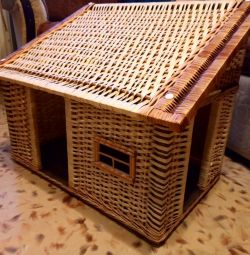 New cat house