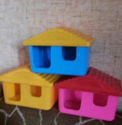 Τρωκτικά σπίτια