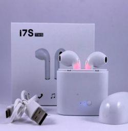 Беспроводные наушники Apple Airpods i7sTWS
