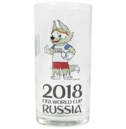 Стакан високий із символікою FIFA 2018