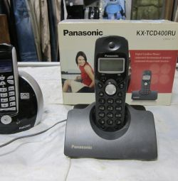 Radio telefon panasonic 2buc