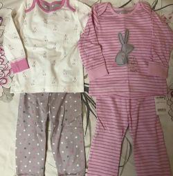 Pajama Mamă de îngrijire 2 buc