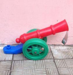Cannon plastic