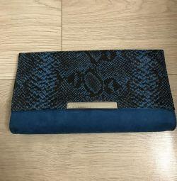 Клатч новый текстиль