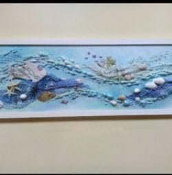 Nautical painting