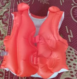 Life jacket and sleeves