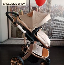 Baby carriage transformer 2v1