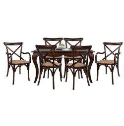 TABLE SET RUSTICA TABLE & CHAIRS FORENZA