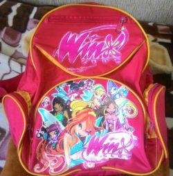 Kızlar için okul çantası
