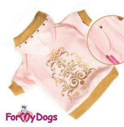 Jachete roz (haine pentru câini)