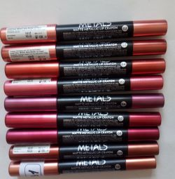 Помада-карандаш д/губ Metals Matte Metallic Lip Cr