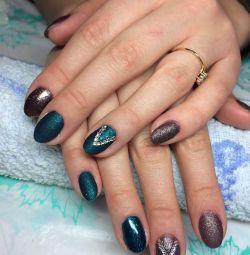Manicure + gel polish (design in 🎁)