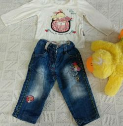 Clothes for a girl for 1 year