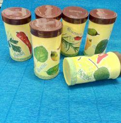 Set pentru produse în vrac