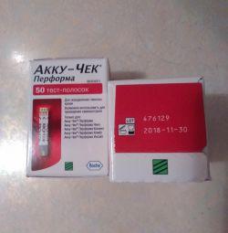 (Prețul pe unitate) Benzi de testare Accu-Chek Preforma