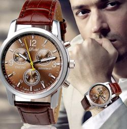 Men's fashion luxury quartz watch