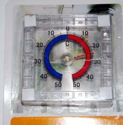 Термометр уличный (за окно)