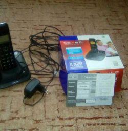 Telephone cordless phone