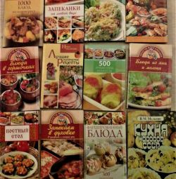 BOOKS ON COOKING