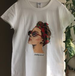 Νέο μέγεθος T-shirt 40-42