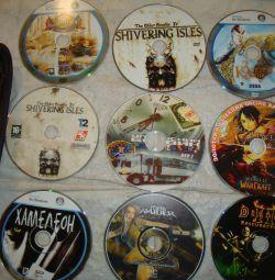 Games on dvd plus music license case