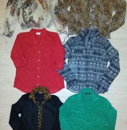 Сорочки, блузки 42-48