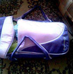 Τσάντα μεταφοράς για το μωρό