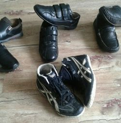 Second-hand shoes for the boy