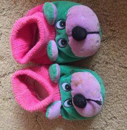 Papuci papuci dimensiunea 10-11-12 cm