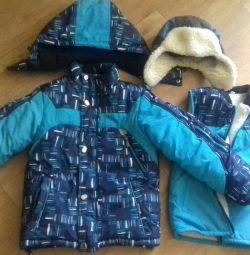 Зимний костюм 4-6 лет