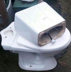 Toaletă cu rezervor. la dacha 🌳🏡