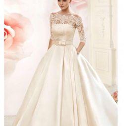 Wedding dress Navi blue bridal