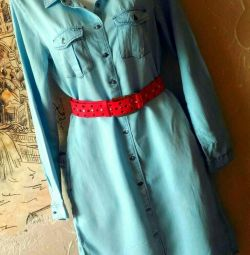 Платье из мягкой джинсовки Esmara