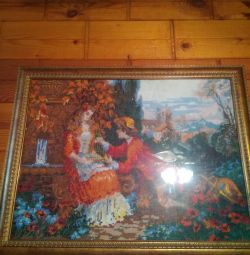 Картина вышивка ручная