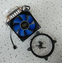 Cooler for Intel and AMD Socket processors