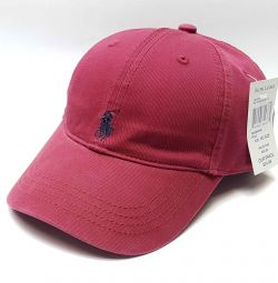Șapcă de baseball Polo Ralph Lauren (burgundă)
