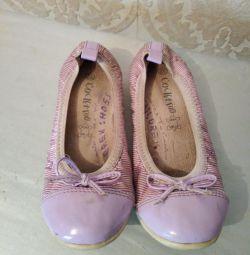 Pantofi de balet pentru copii 32-33r