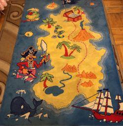 Covoare mari pentru copii Piratii