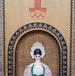 Panel kız olimpiyatların amblemi 80