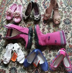 The shoes are new and used in good condition. 35 RUR