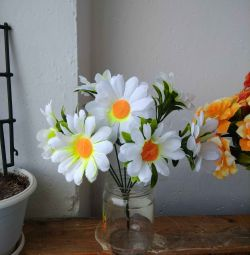 Artificial daisies bouquet