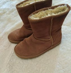 Ugg boots are warm