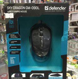 Игровая мышь+игровой коврик Defender