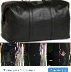 Bag new Samsonite Black Lebel Italy leather pain