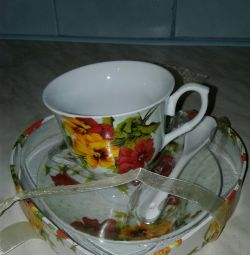 Tea service. Urgently