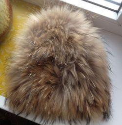 🆕 ❄️ Лисья шапка